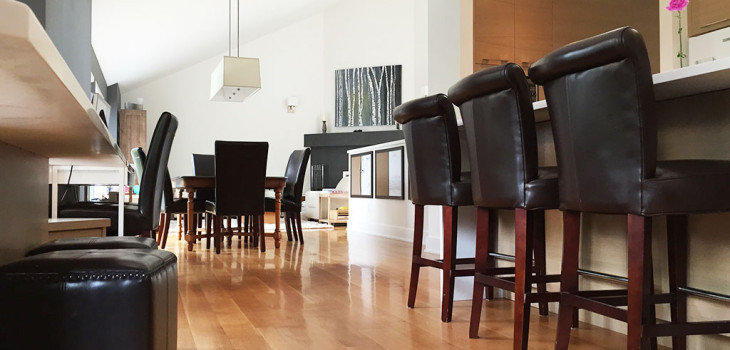 West Vancouver hardwood floor project